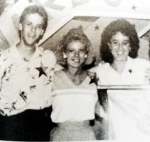 Student Council 1985-86. Me and Polly Parker with Mrs. Sullins
