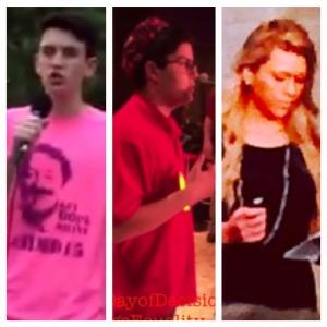 The future is bright: Miles, Josh, Avery