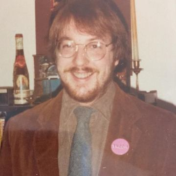 jim faggot queer button