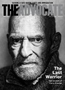larry kramer adv cover